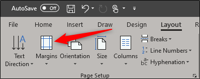 Select margins in layout group