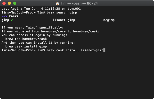 Installing Software with Homebrew for macOS