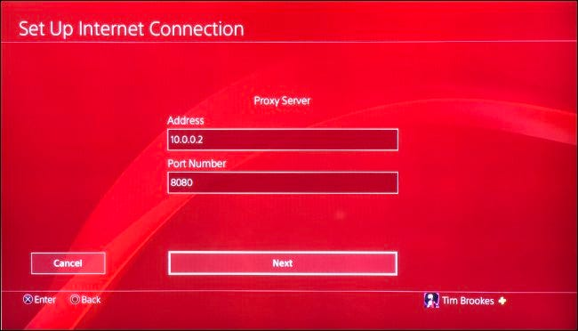 Set Up PS4 for Use With Proxy Server