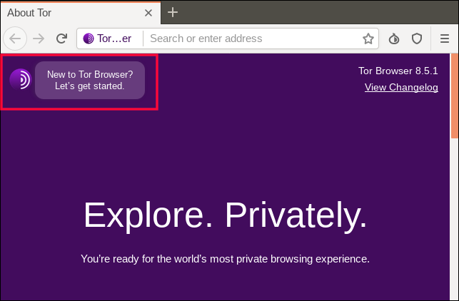 New to Tor browser? link