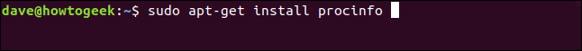 sudo apt-get install lsscsi in a terminal window