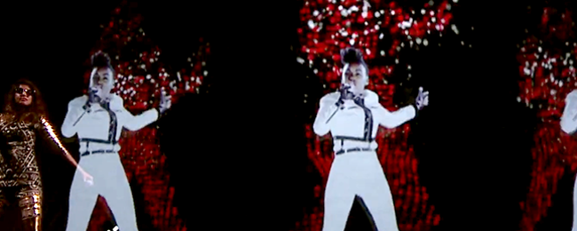How Do Holograms Work on Stage?