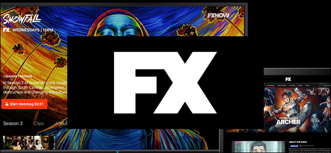 The FXNow website.