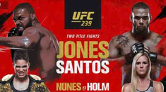How to Stream UFC 239 Jon Jones vs. Santos Online