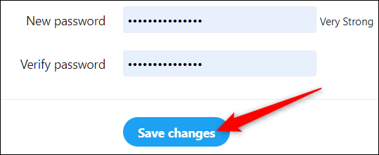 "Click ""Save Changes."""