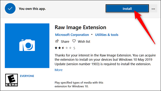 How to Open RAW Image Files on Windows 10