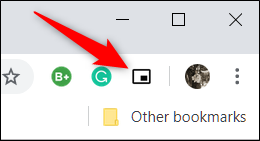 Load a video, and then click on the Picture-in-Picture toolbar icon