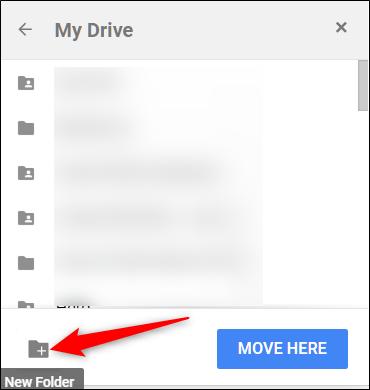 """Click the """"New Folder"""" icon."""