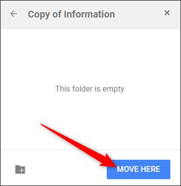 """Click """"Move Here."""""""