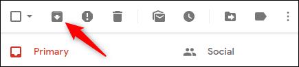 Haga clic en el botón Archivar.