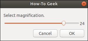 diálogo de escala zenity con selección de usuario