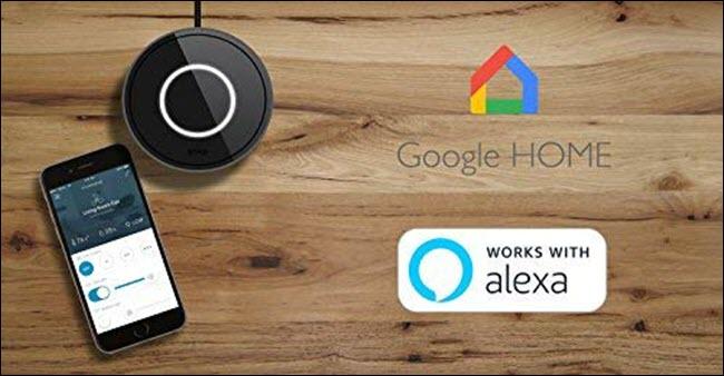 Bond smart bridge for Google Home and Alexa.