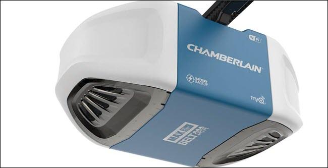 Chamberlain MyQ B970 garage door opener.