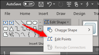 Edit Points option