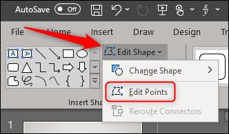 Edit points of a freeform shape