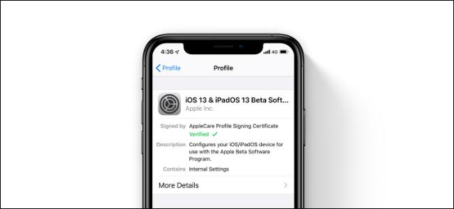 Cómo salir del programa beta público de iOS