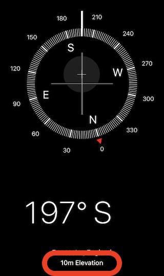 Open the Compass app