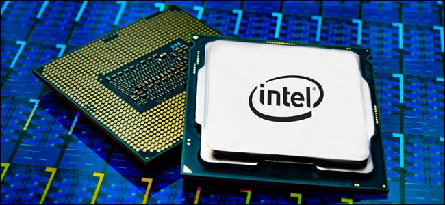 Intel's Core i9 processor package.