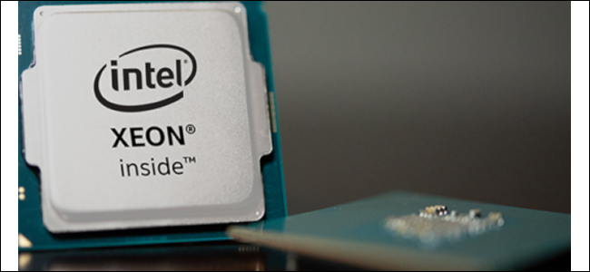 Intel's Xeon processor package.