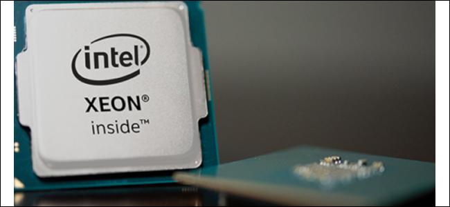 Intel's Xeon processor package.