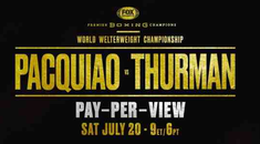 Fight Night: How to Stream Pacquiao vs. Thurman Online