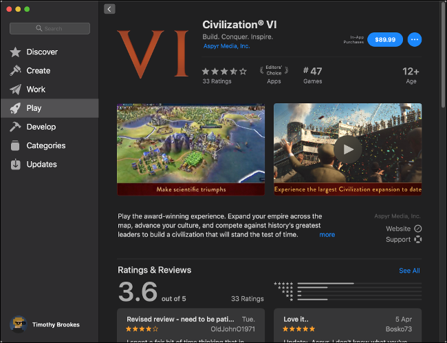 Civilization VI on the Mac App Store