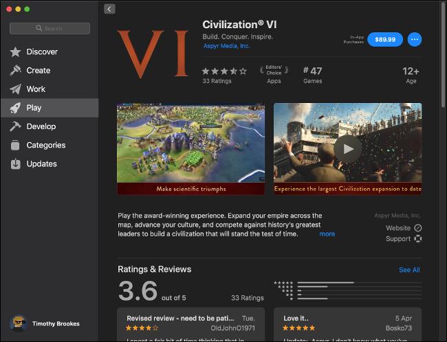 Civilization VI on the Mac App Store