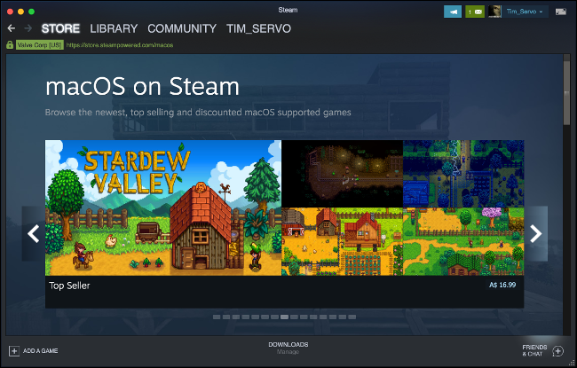 Browse macOS Games on Steam