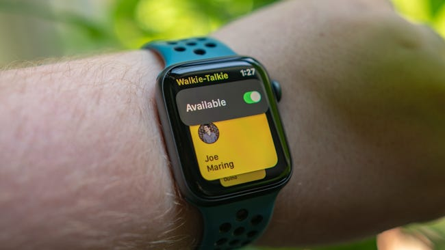 Apple Watch Walkie Talkie Mode