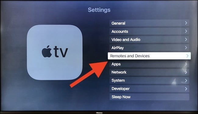Select remotes and devices