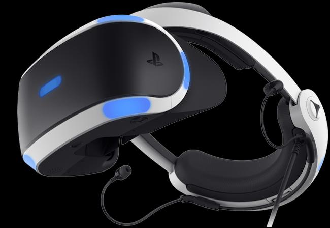 PSVR headset.
