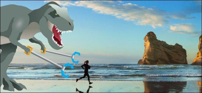 Windows 10 insider dinosaur wallpaper