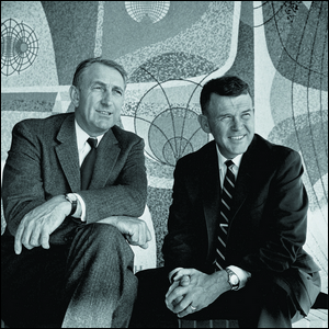 Bill Hewlett and David Packard in the 1960s