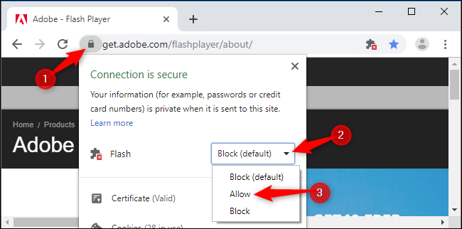 How to Enable Adobe Flash in Google Chrome 76+