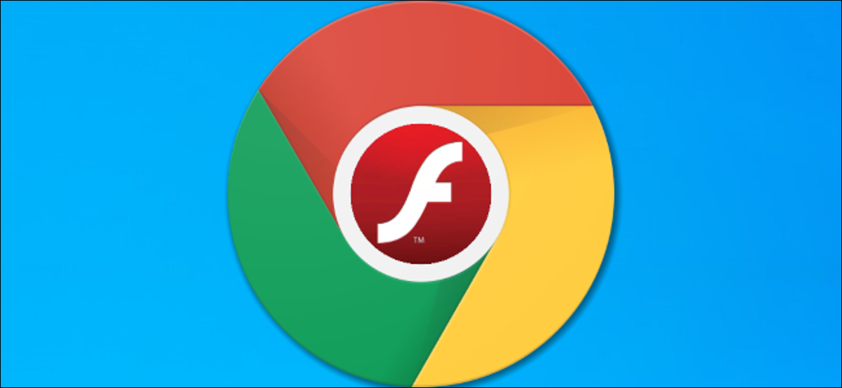 Flash logo inside a Google Chrome browser icon.