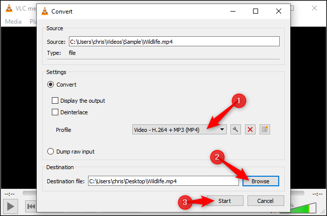 How to Convert a Video or Audio File Using VLC