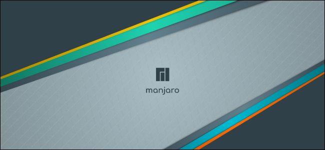 Manjaro desktop background.