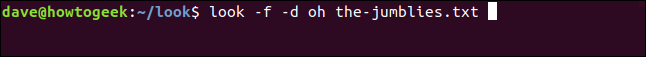 look -f -d oh the-jumblies.txt in a terminal window.