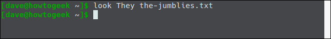 look They the-jumblies.txt in a terminal window.