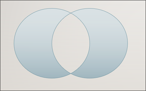 merged oval shapes in powerpoint