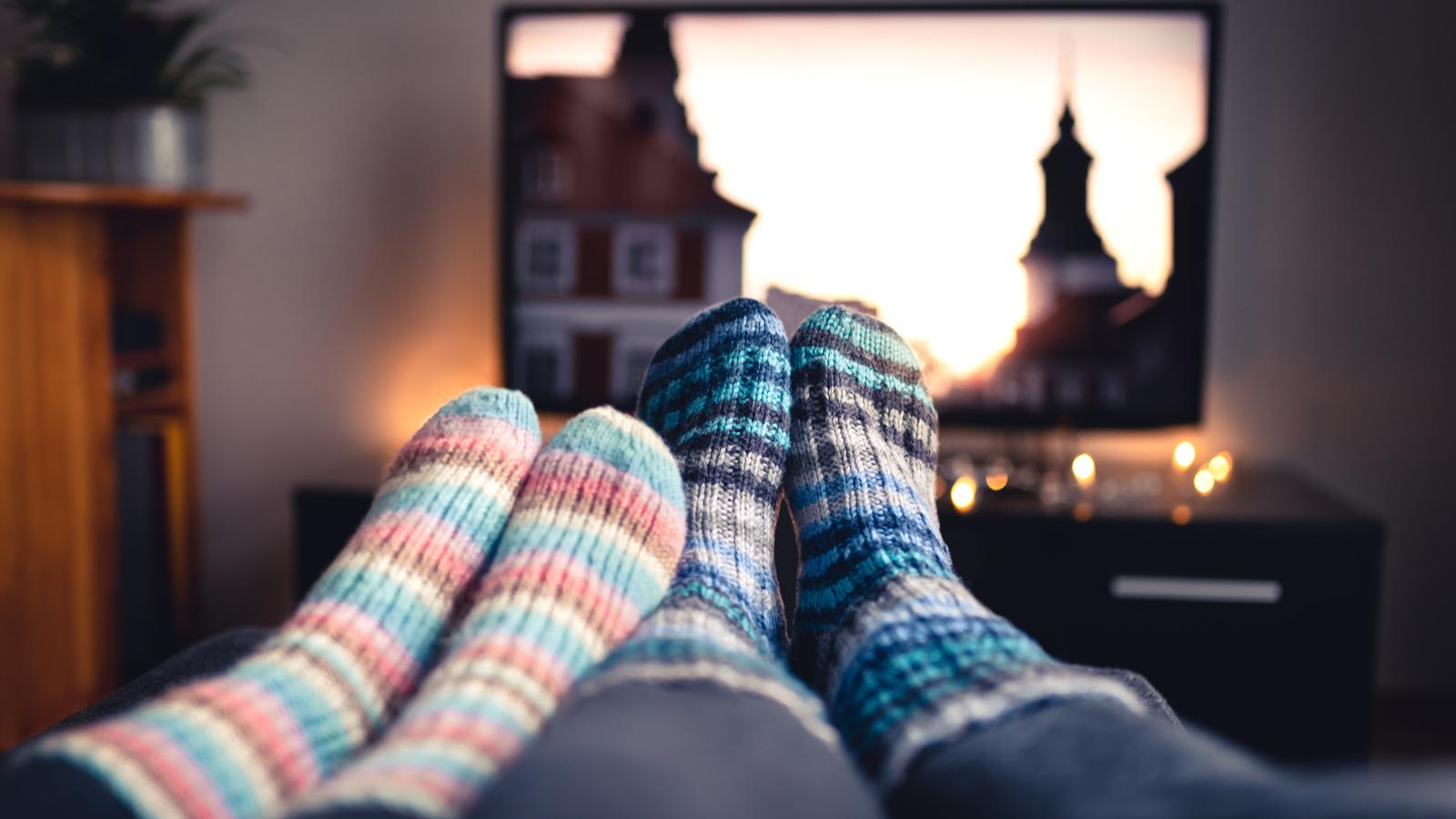 socks and tv