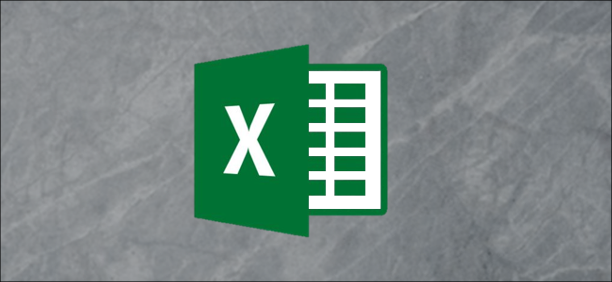 A Microsoft Excel logo on a gray background