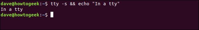 """In a tty"" in a terminal window"