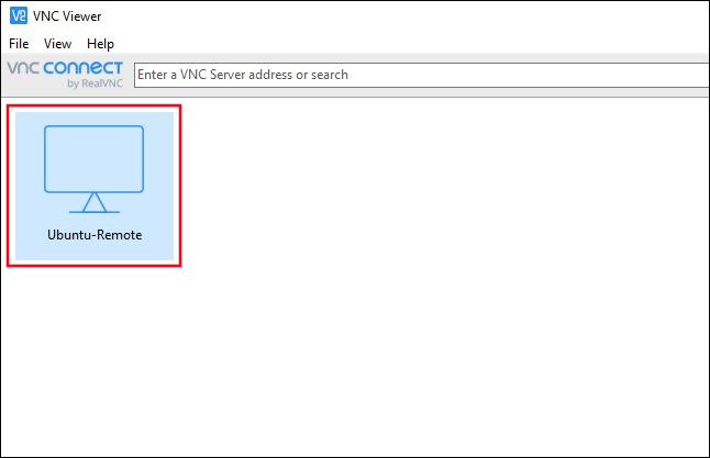A new connection icon in the main RealNVC window.