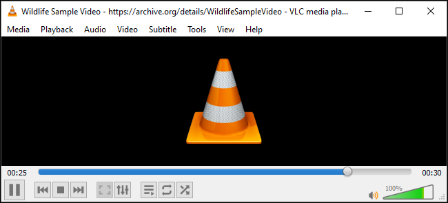 Progress bar while converting a media file in VLC