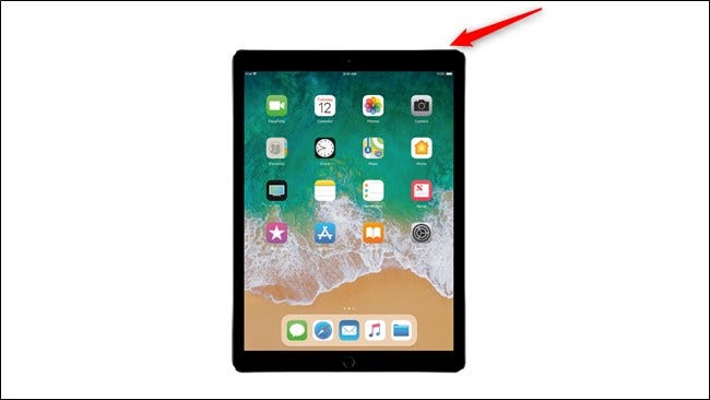 Apple iPad Pro 2017 Power Button