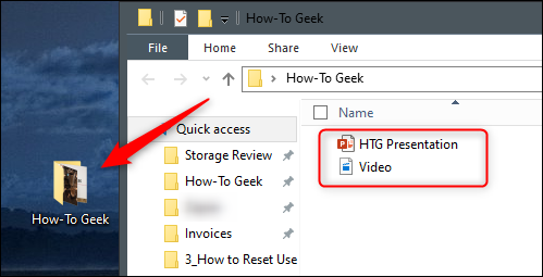 Add Ppt and video file to folder
