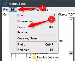 Delete Word Key