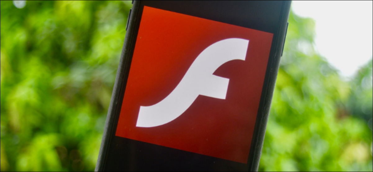 Flash Icon Shown on an iPhone Screen