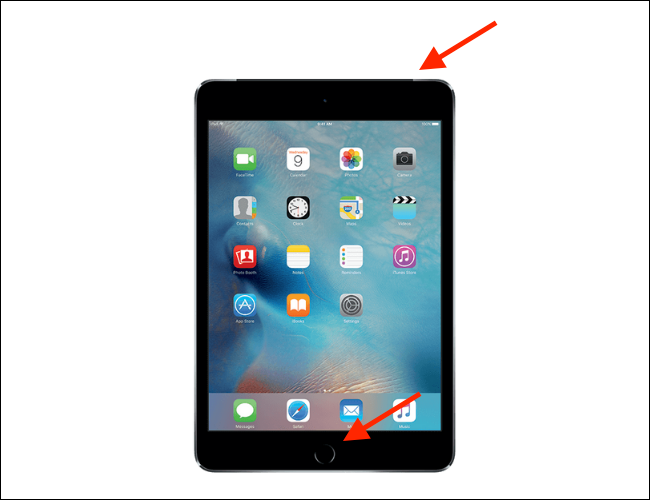 How to Force Restart iPad with Home button